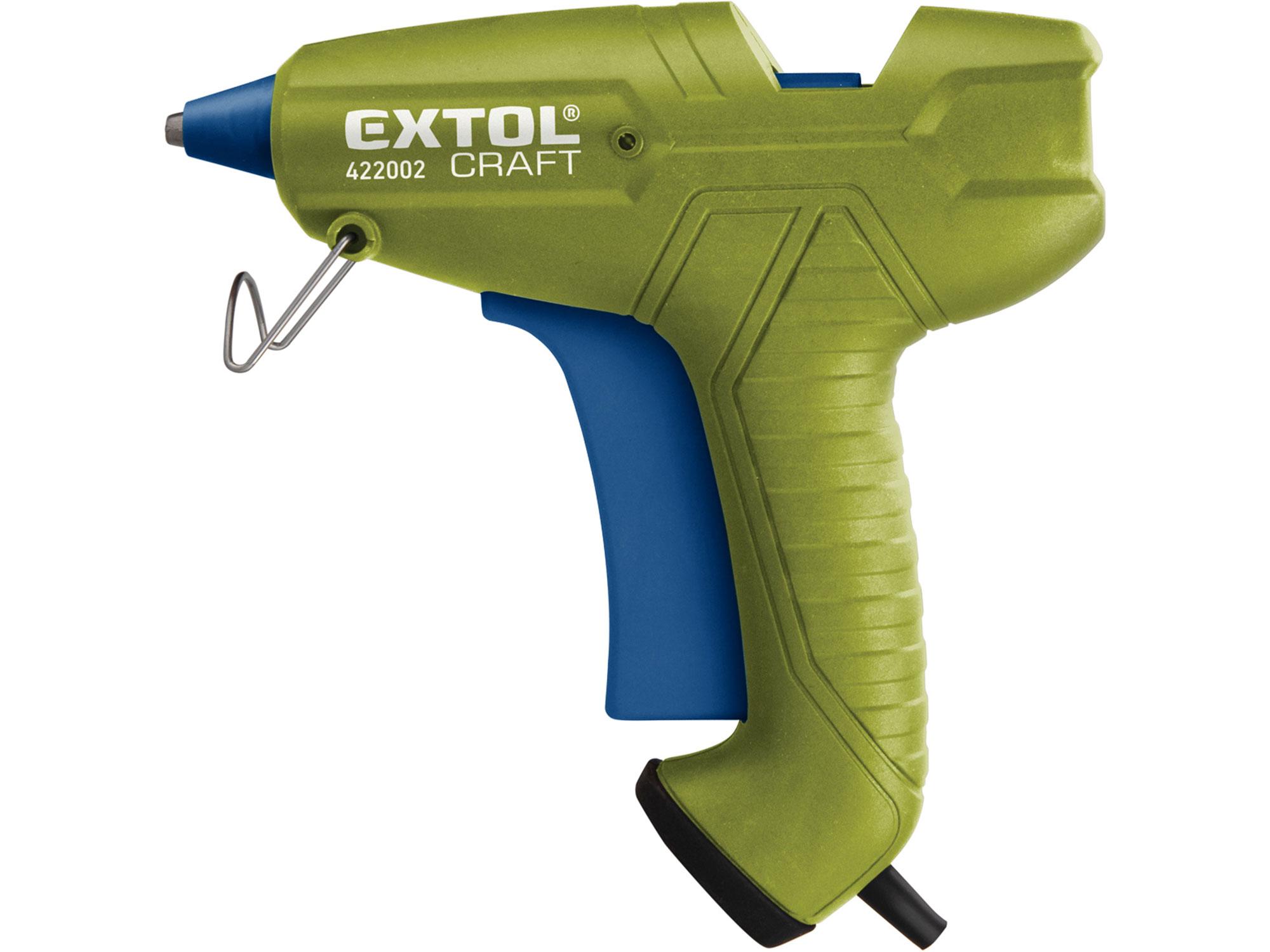 Pistole tavná lepící, Ř11mm, 65W EXTOL CRAFT 422002