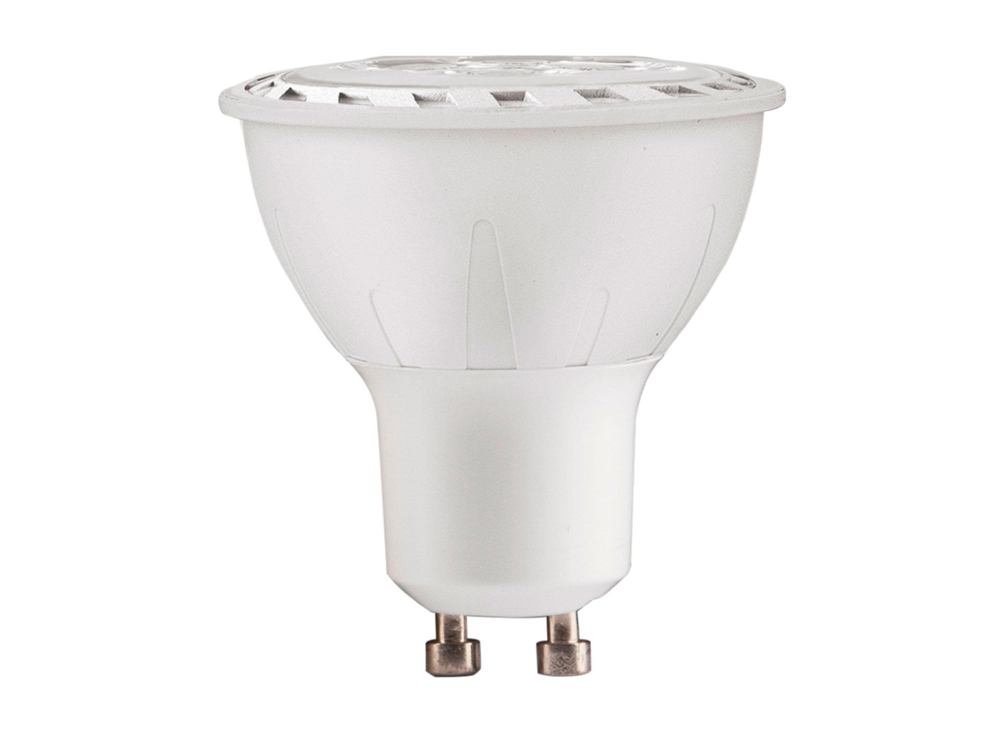 Žárovka LED reflektorová bodová, 7W, 580lm, GU10, teplá bílá, COB EXTOL LIGHT 43035