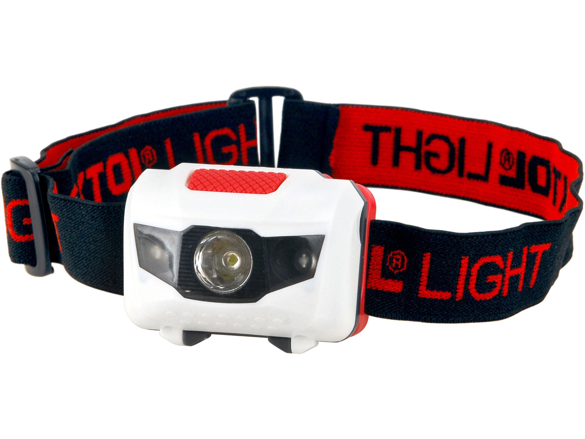 Čelovka 40lm, 1W + 2 červené LED, ABS plast EXTOL LIGHT 43102
