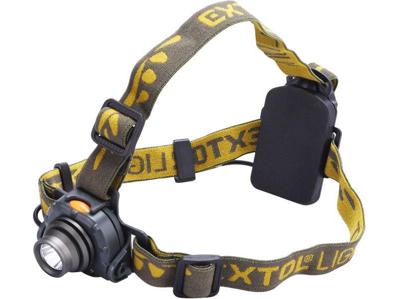 Čelovka CREE 3W XPE LED 120lm se senzorem 43104