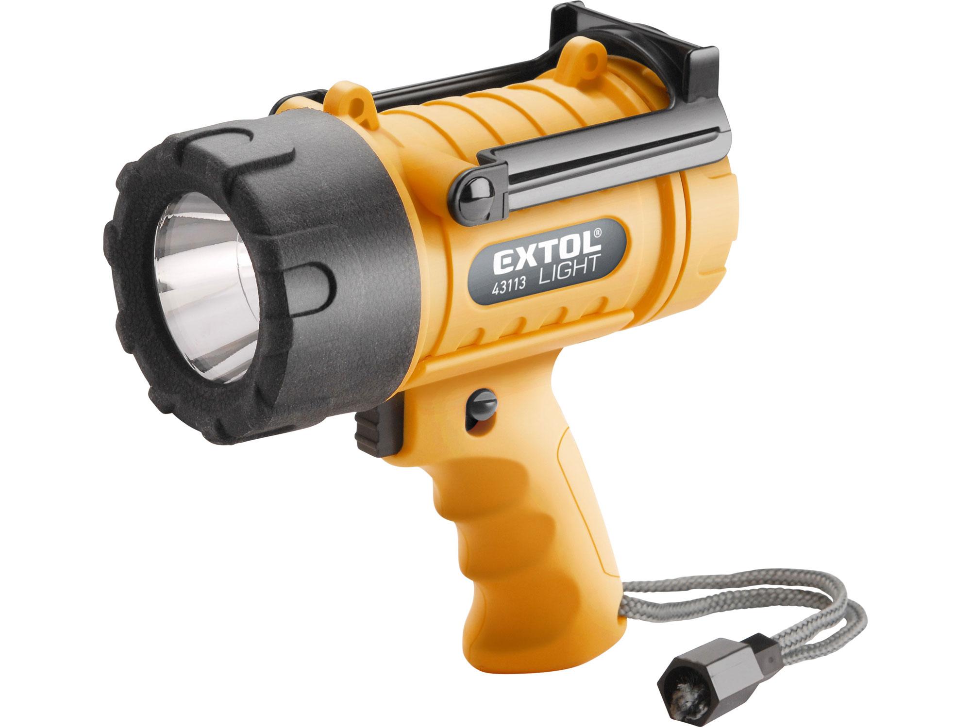 Svítilna 300lm CREE XPG LED, vodotěsná, 5W EXTOL LIGHT 43113