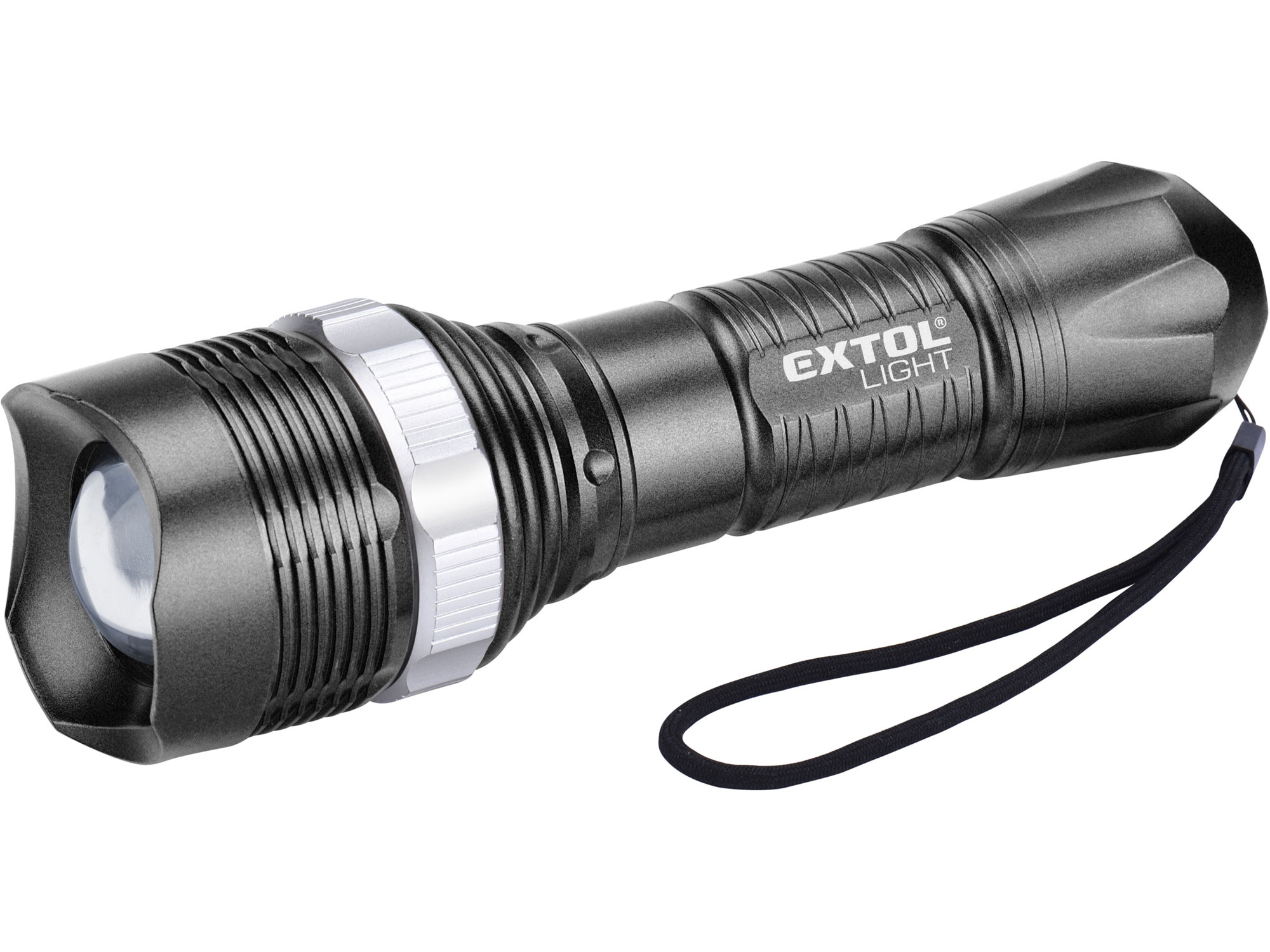 Svítilna 40lm, ZOOM, 1W LED, ABS plast EXTOL LIGHT 43116