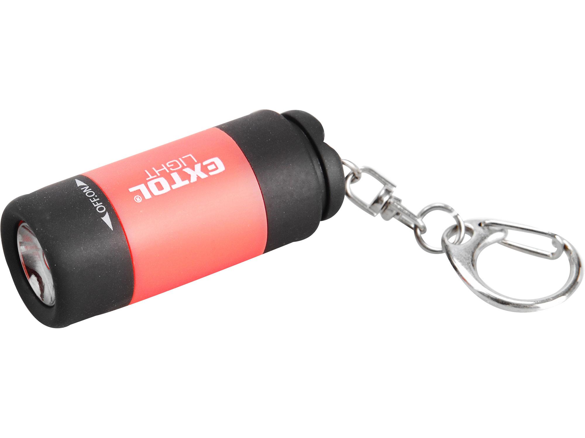 Svítilna USB nabíjecí s LED žárovkou - přívěšek EXTOL LIGHT 43120