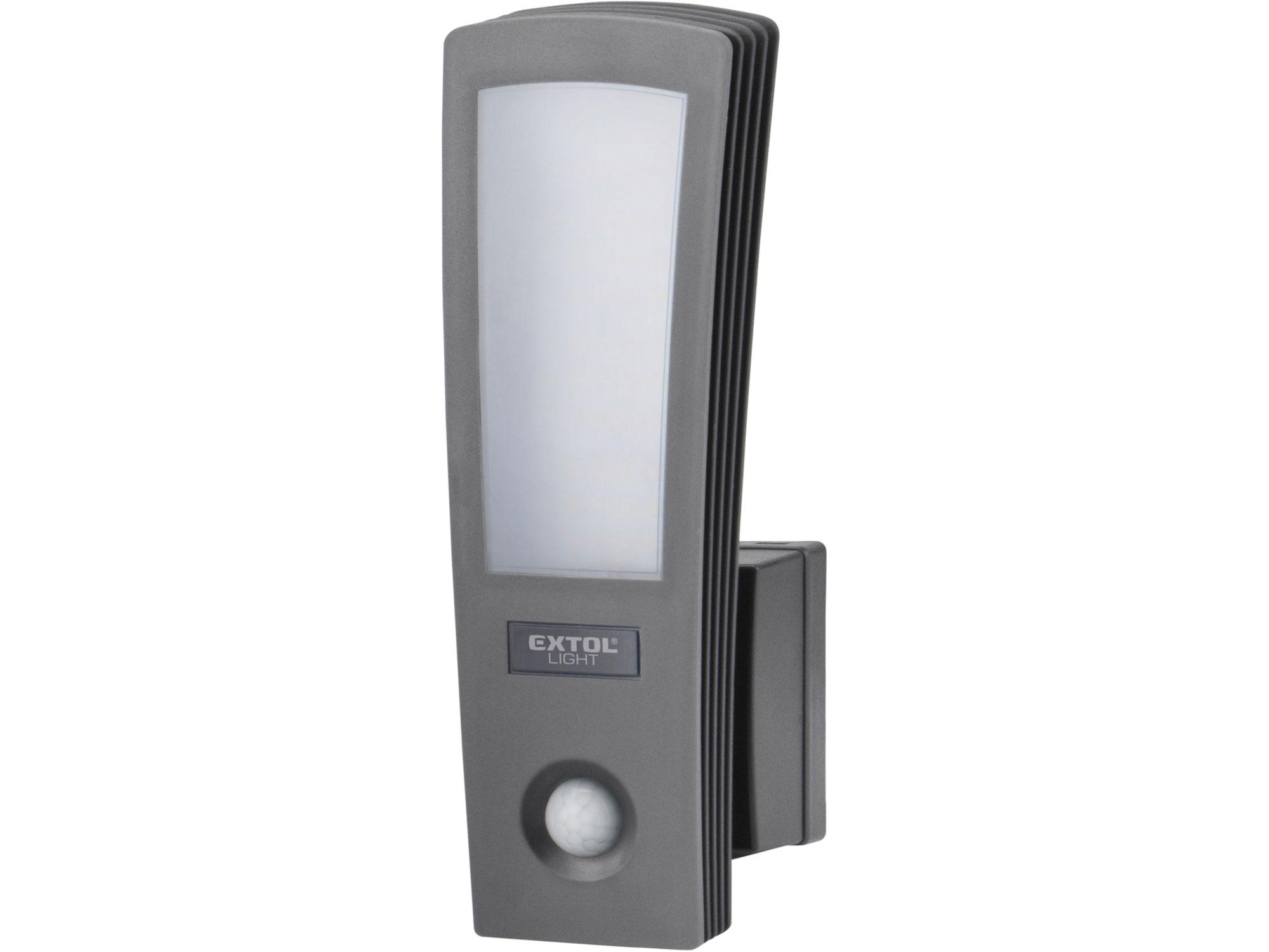 Světlo LED, domovní, s pohybovým čidlem, 700lm EXTOL LIGHT 43219