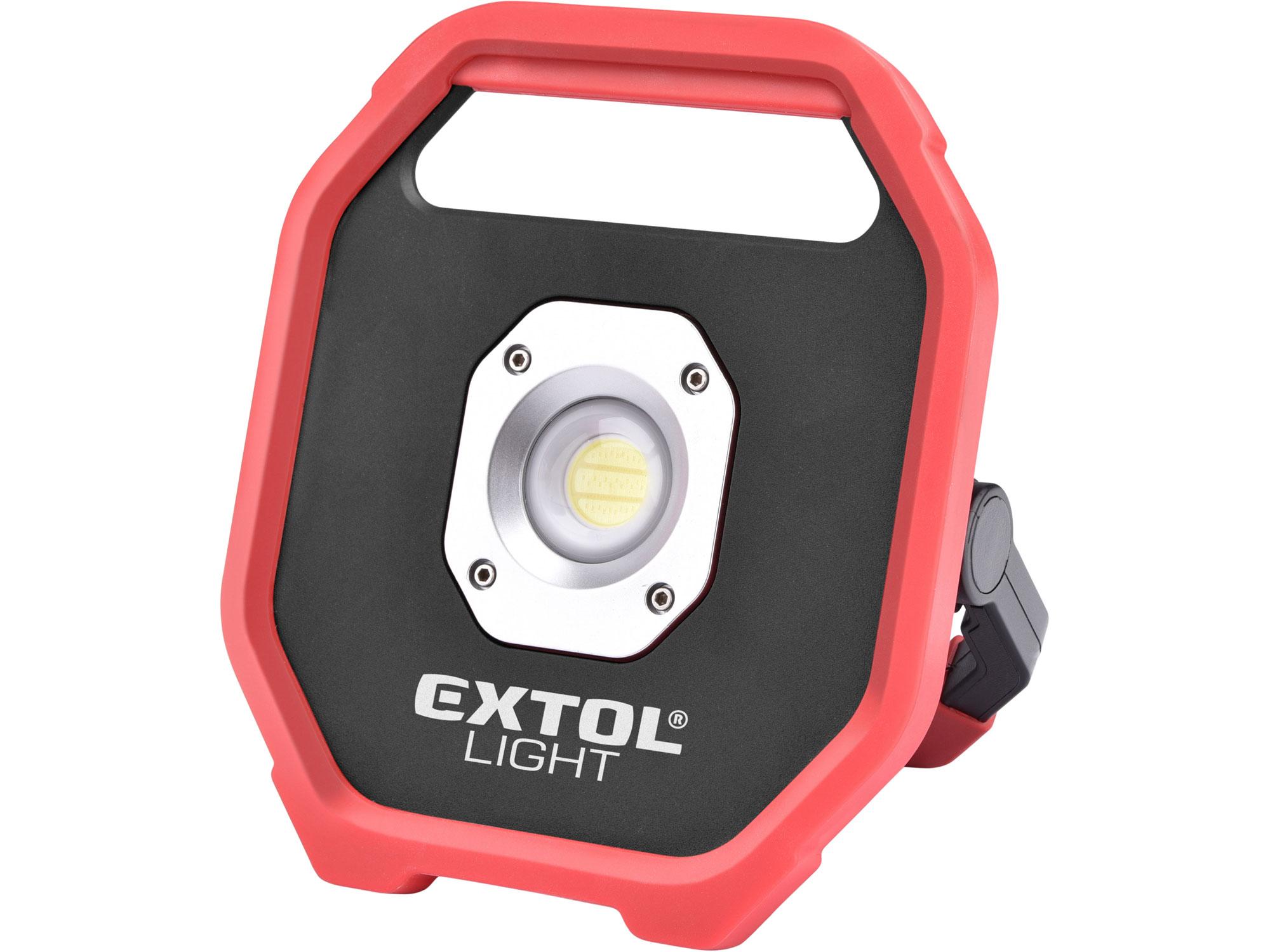 Reflektor LED, 1200lm, na baterie EXTOL LIGHT 43260