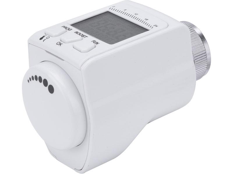 Hlavice termostatická pro radiátor, programovatelná EXTOL LIGHT 43830