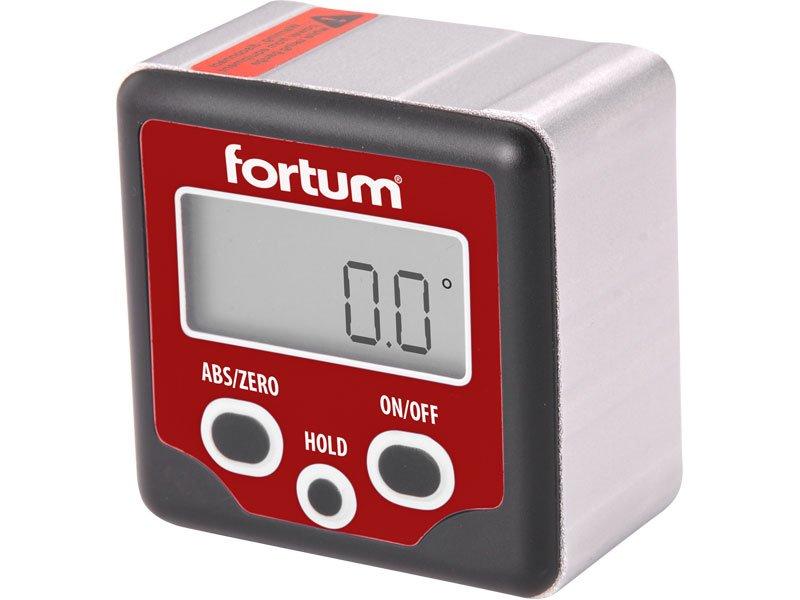Sklonoměr digitální s magnety FORTUM 4780200