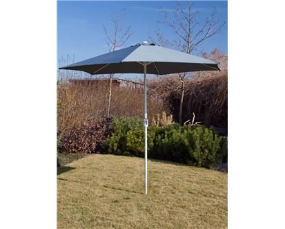 Slunečník Happy Green s kličkou 300 cm - antracit