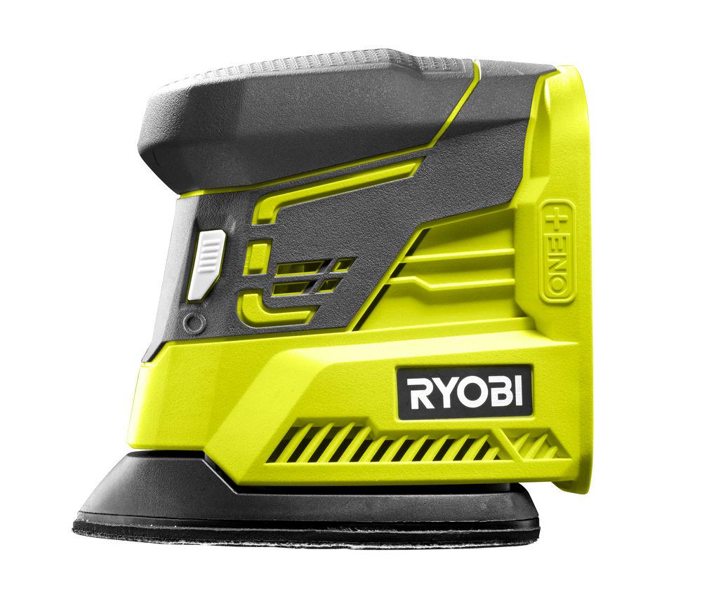 Aku vibrační bruska ONE + Ryobi R18PS-0