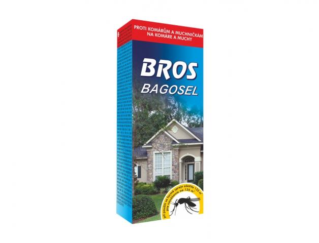 Insekticid BROS BAGOSEL do zahrad proti komárům 50ml