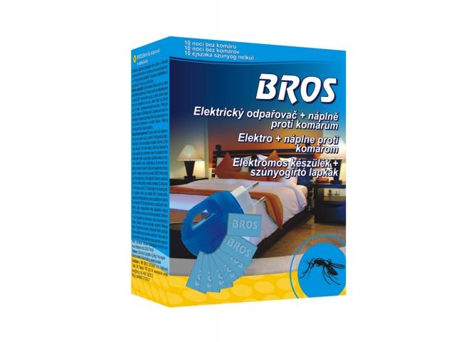 Odpařovač BROS elektrický proti komárům, polštářky 10ks