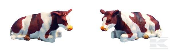 Kráva strakatá 2ks ležící KIDS GLOBE