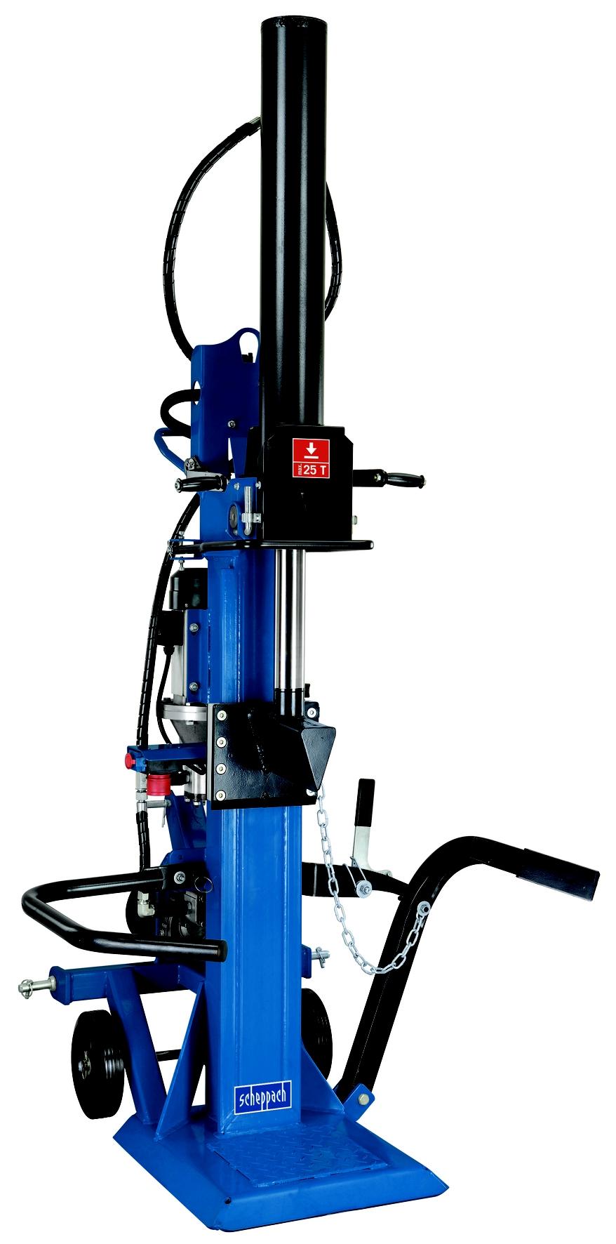Profesionální hybridní štípač na dřevo 25 t Scheppach HL 2500 GM