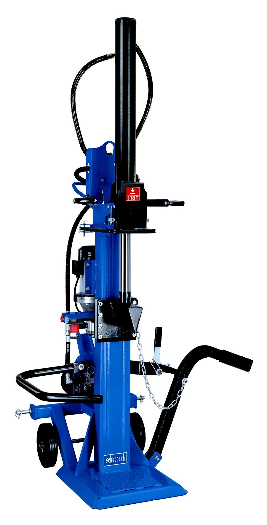 Profesionální hybridní štípač na dřevo 18 t Scheppach HL 1800 GM