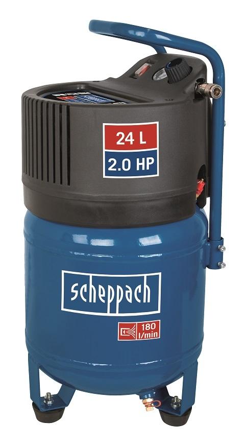 Bezolejový kompresor Scheppach HC 24 V vertikální