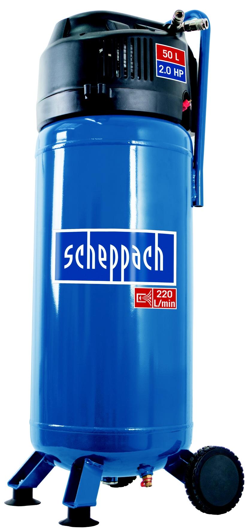 Bezolejový vertikální kompresor Scheppach HC 51 V