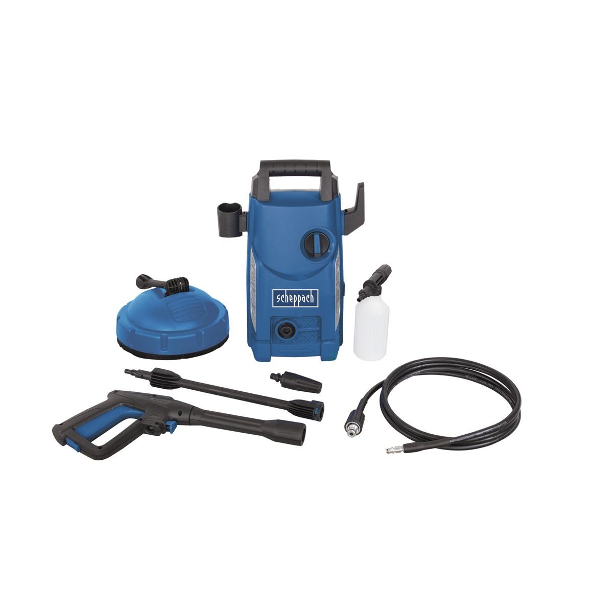 Elektrická tlaková myčka 105 bar s příslušenstvím Scheppach HCE 1500