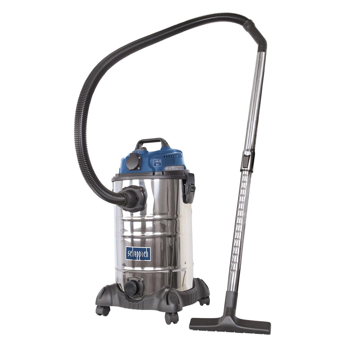 Průmyslový vysavač na suché / mokré vysávání 30 l Scheppach ASP 30 ES