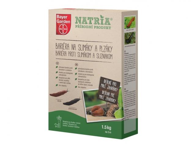 Bariéra NATRIA na slimáky a plzáky 1,5kg