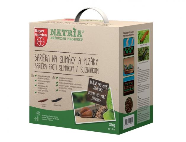 Bariéra NATRIA na slimáky a plzáky 3kg