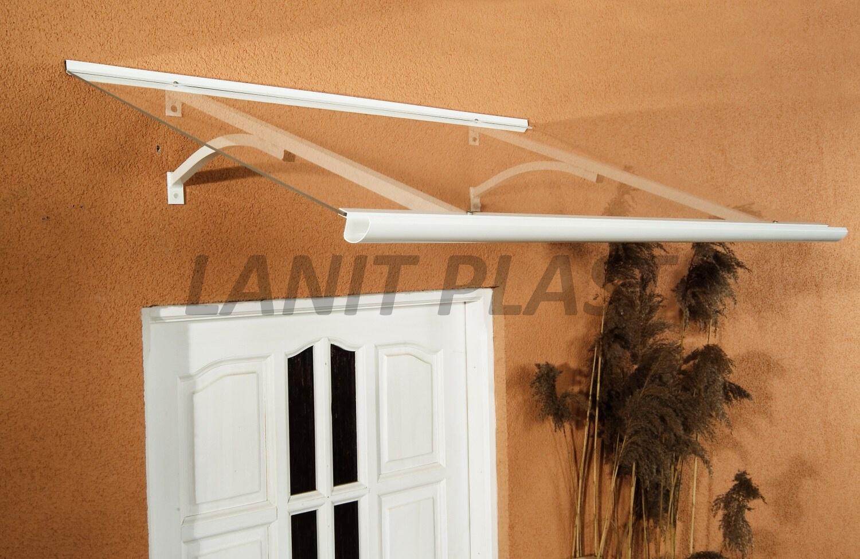 Vchodová stříška OTIS 160 bílá LANITPLAST