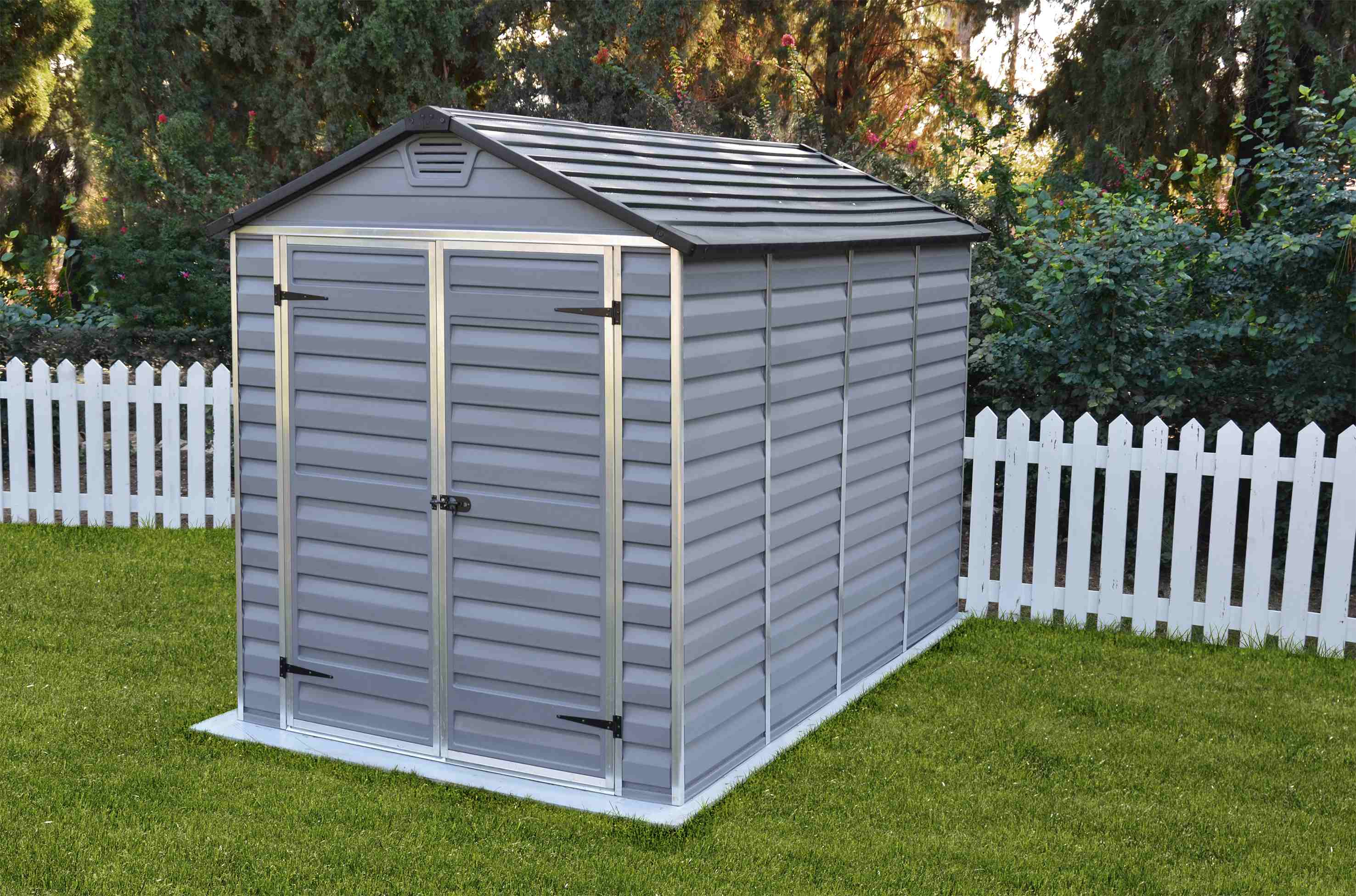 Zahradní domek Palram Skylight 6x10 šedý