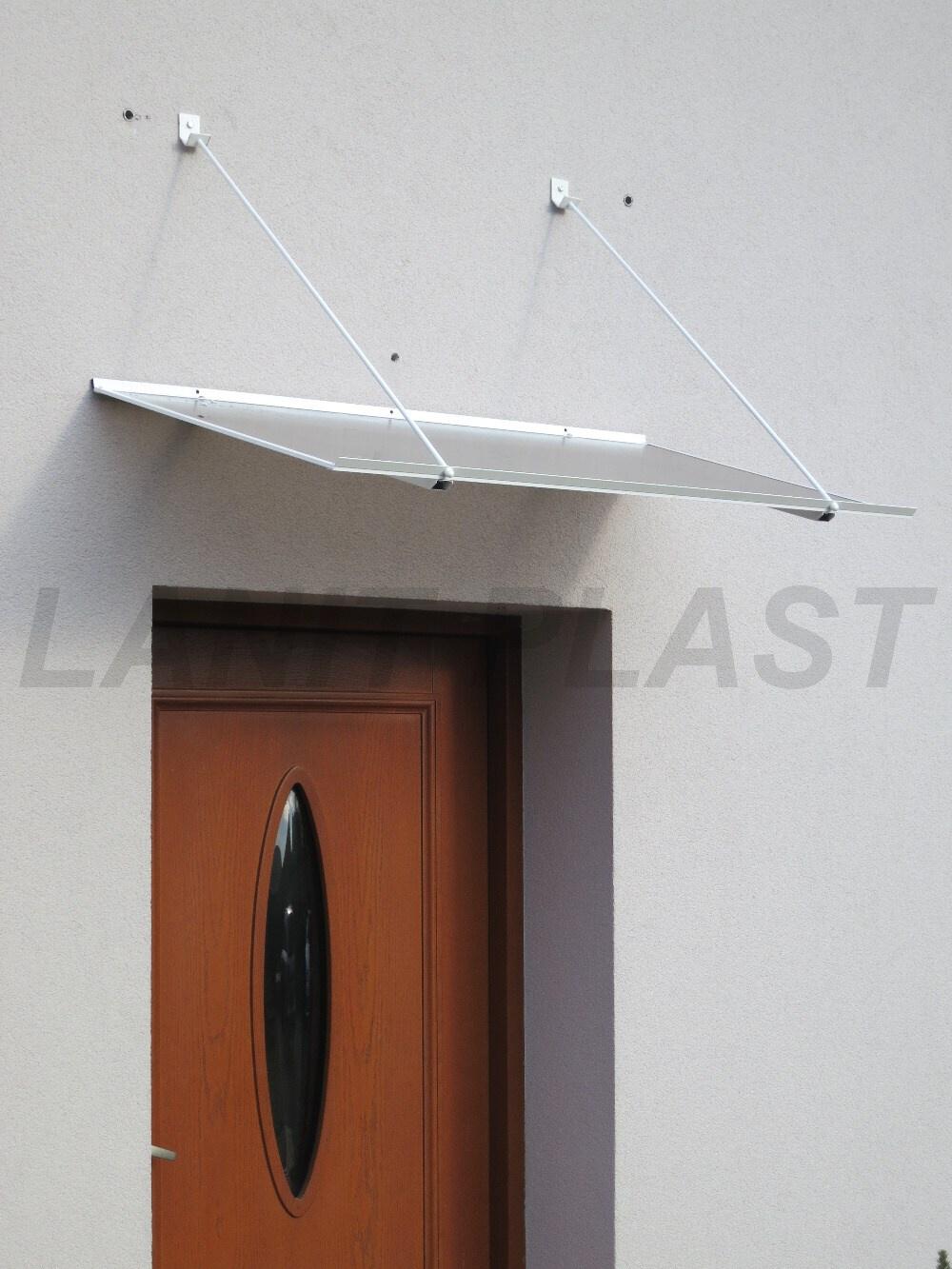 Vchodová stříška SP1 120 bílá LANITPLAST