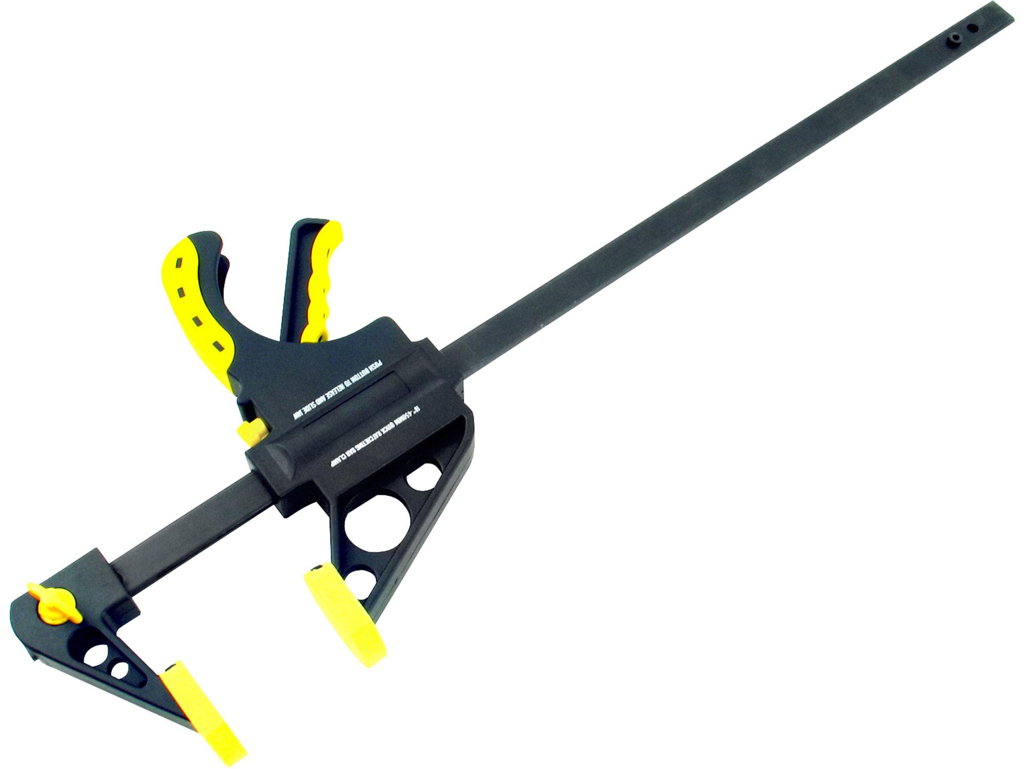 Svěrka rychloupínací HEAVY DUTY, 200mm EXTOL CRAFT 715505