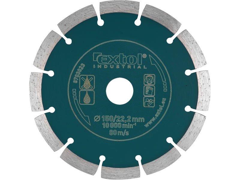 Kotouč diamant. řezný segmentový pr.230 EXTOL INDUSTRIAL 8703035