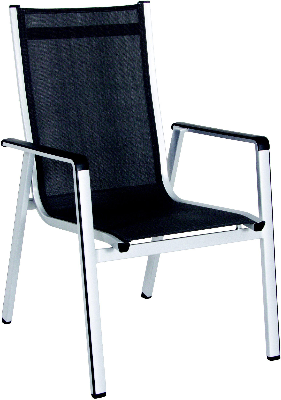 Hliníková stohovatelná židle 69 x 64 x 98 cm MWH Elements