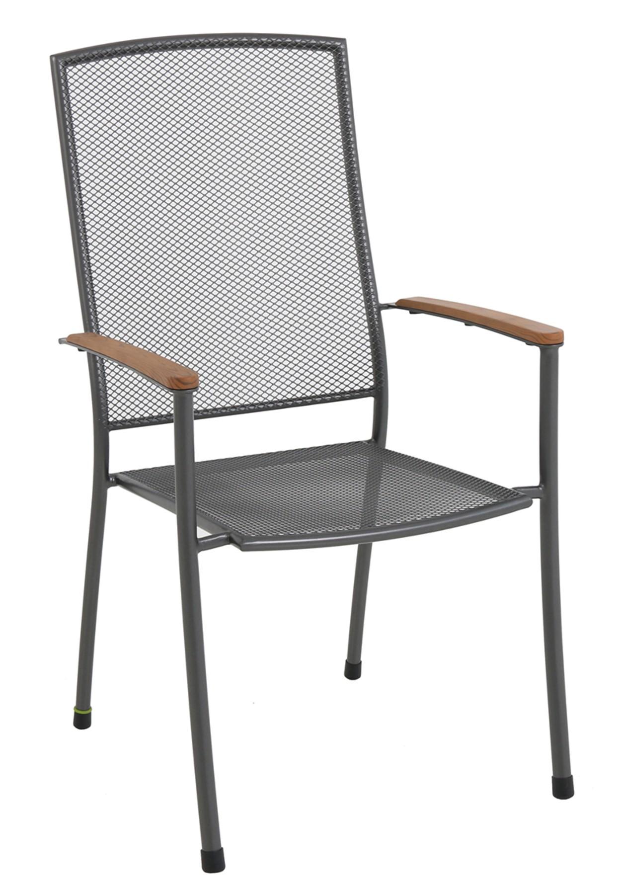 Stohovatelná židle z tahokovu 66,5 x 57,5 x 101 cm MWH Masao GARLAND