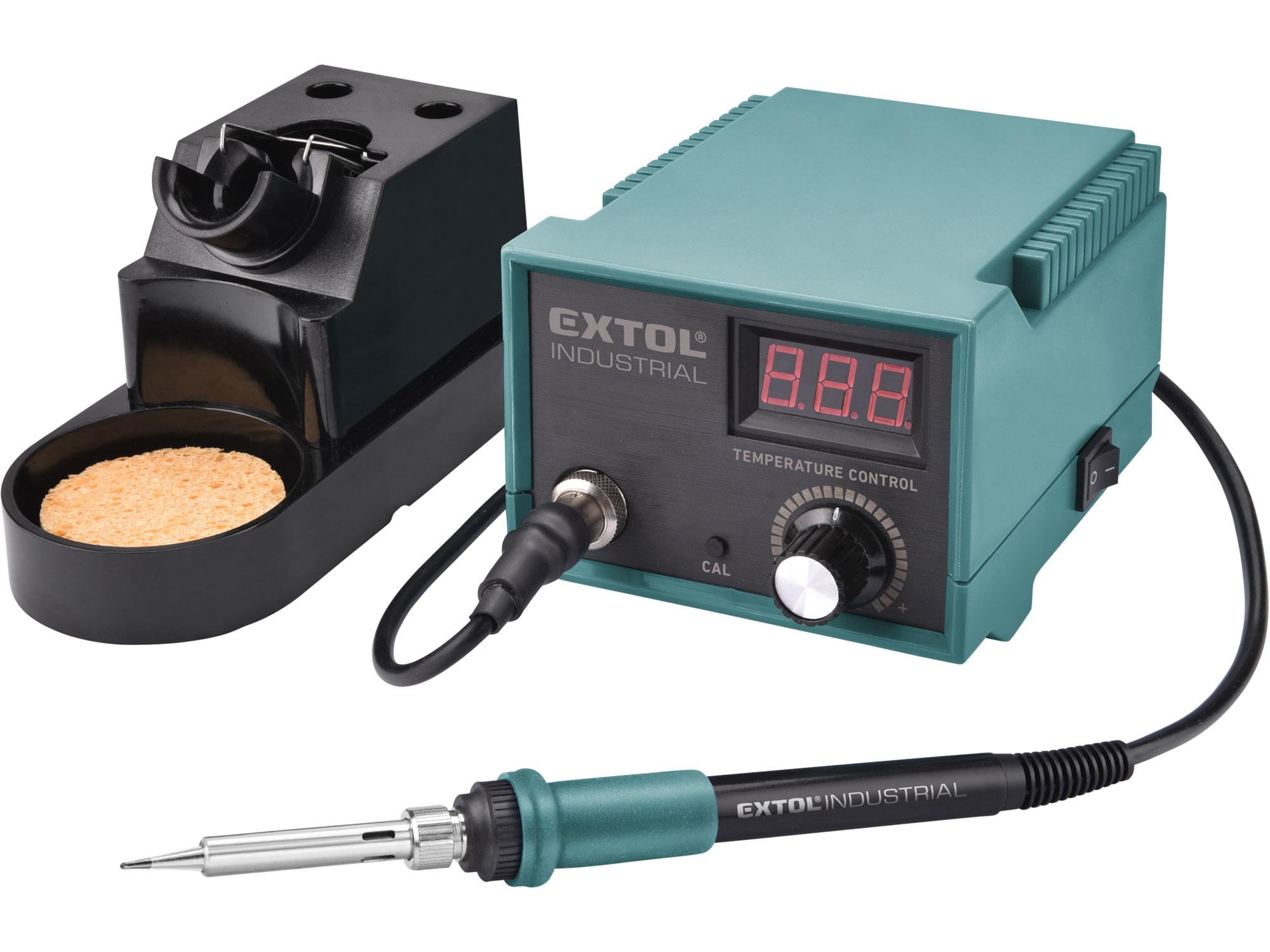 Stanice pájecí s LCD a elektronickou regulací teploty a kalibrací 8794520 EXTOL INDUSTRIAL
