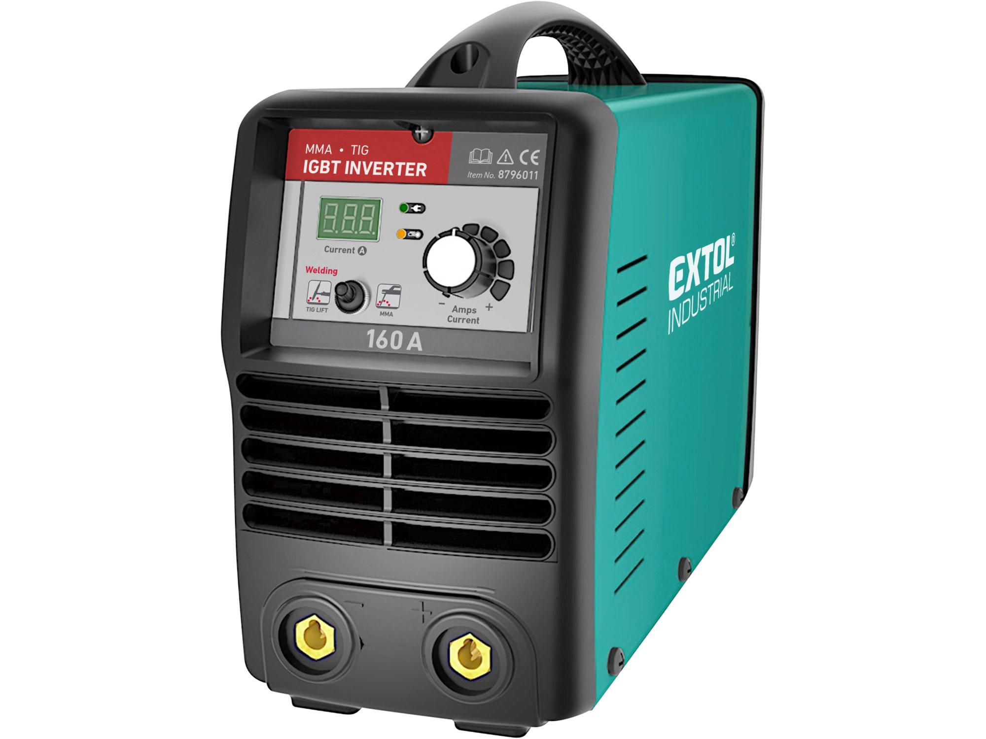 Invertor svarovací 160A Smart EXTOL INDUSTRIAL 8796011