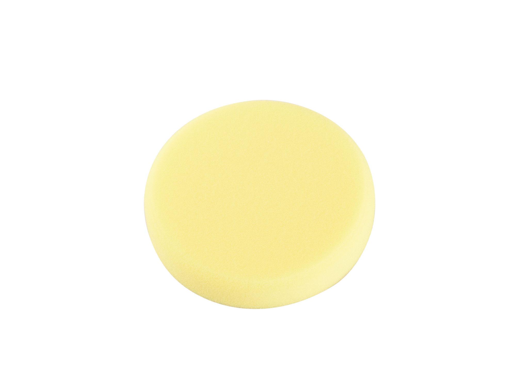 Kotouč leštící penový, T80, žlutý, R150x30mm, suchý zip EXTOL PREMIUM 8803548