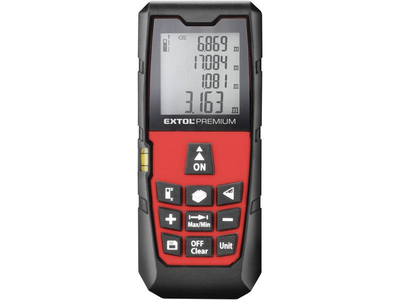 Metr laserový digitální 40m EXTOL Premium 8820042