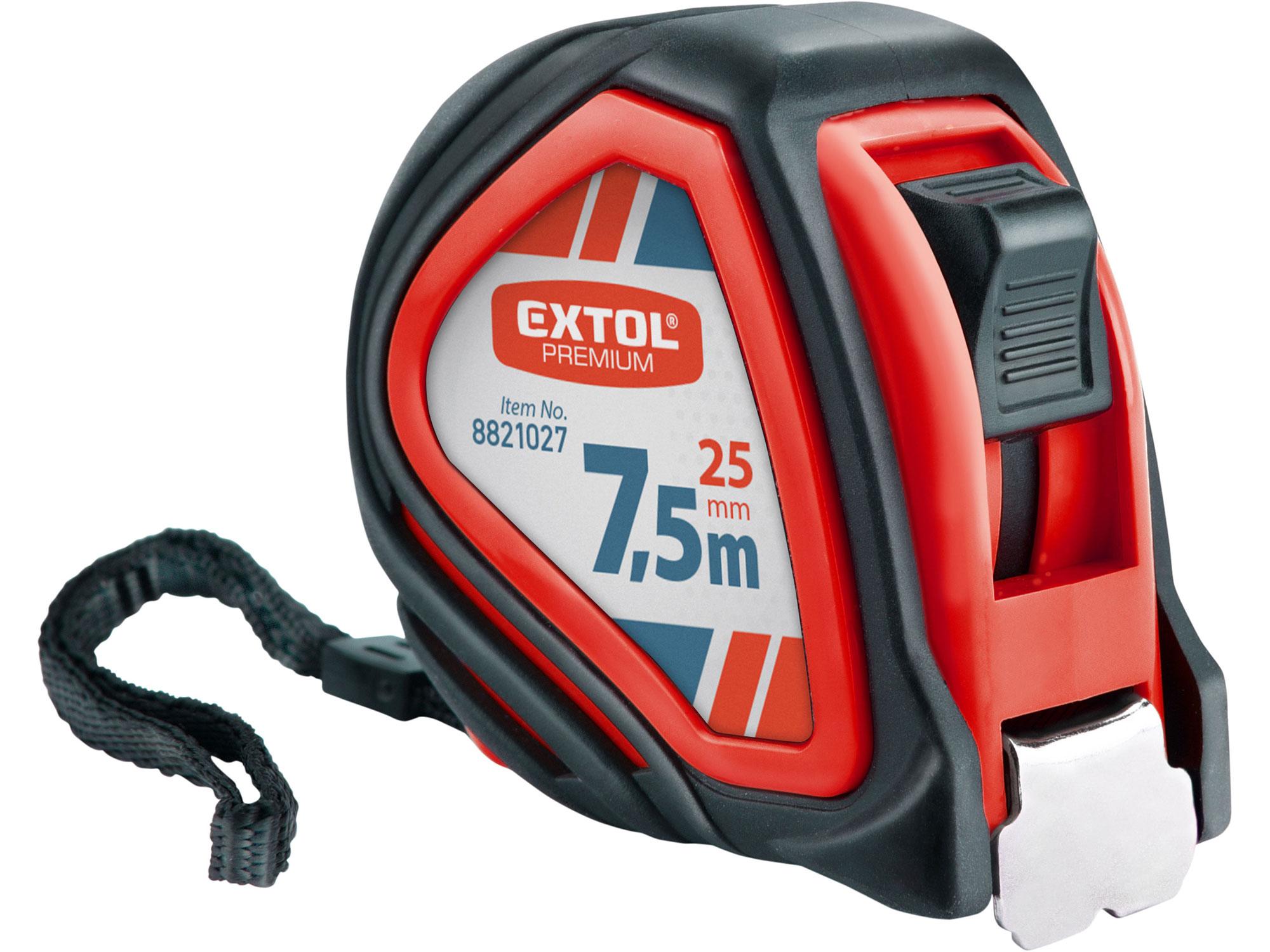 Metr svinovací, 7,5m, š. pásku 25mm EXTOL PREMIUM 8821027