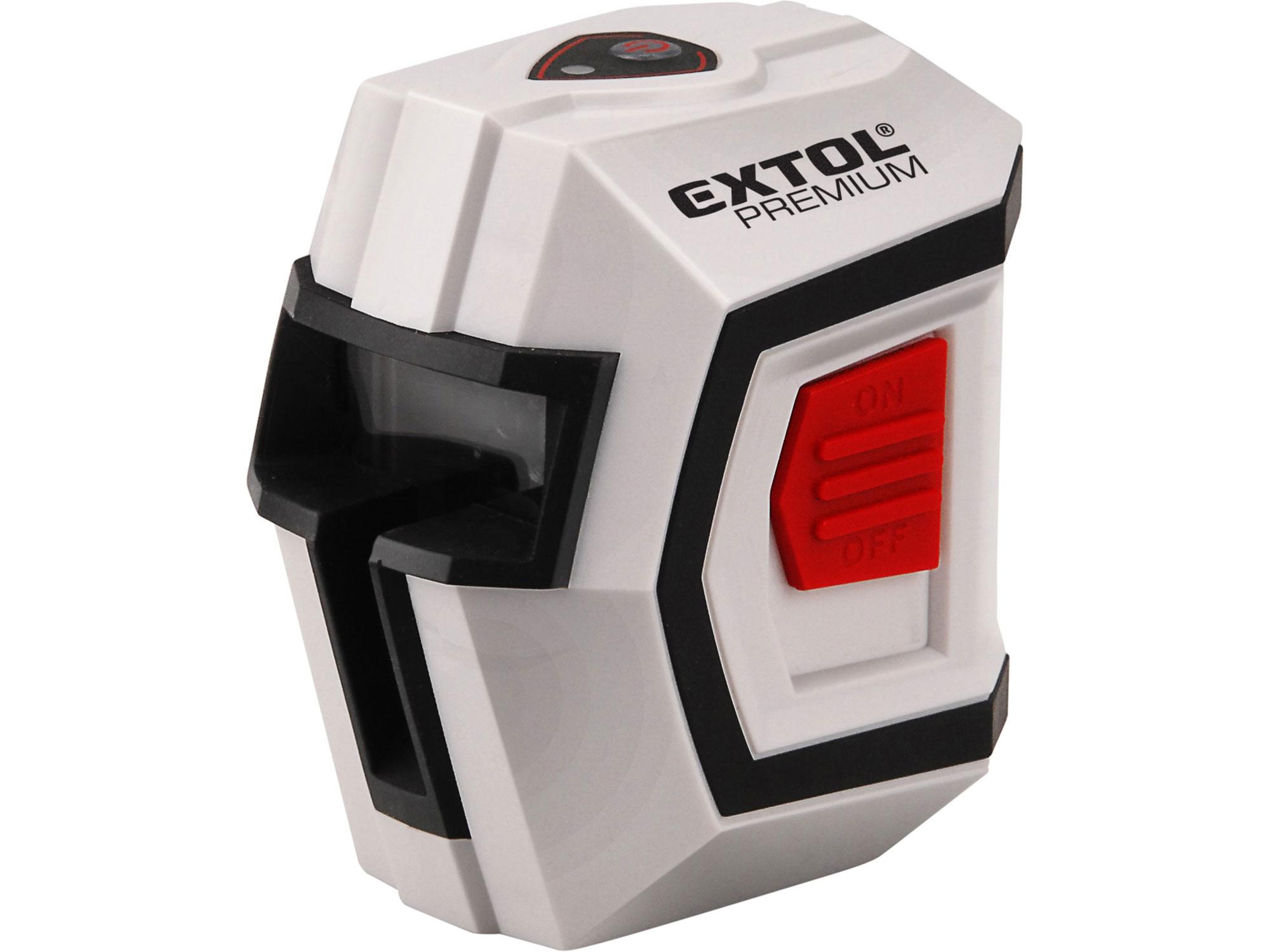 Laser liniový, křížový samonivelační EXTOL PREMIUM 8823301