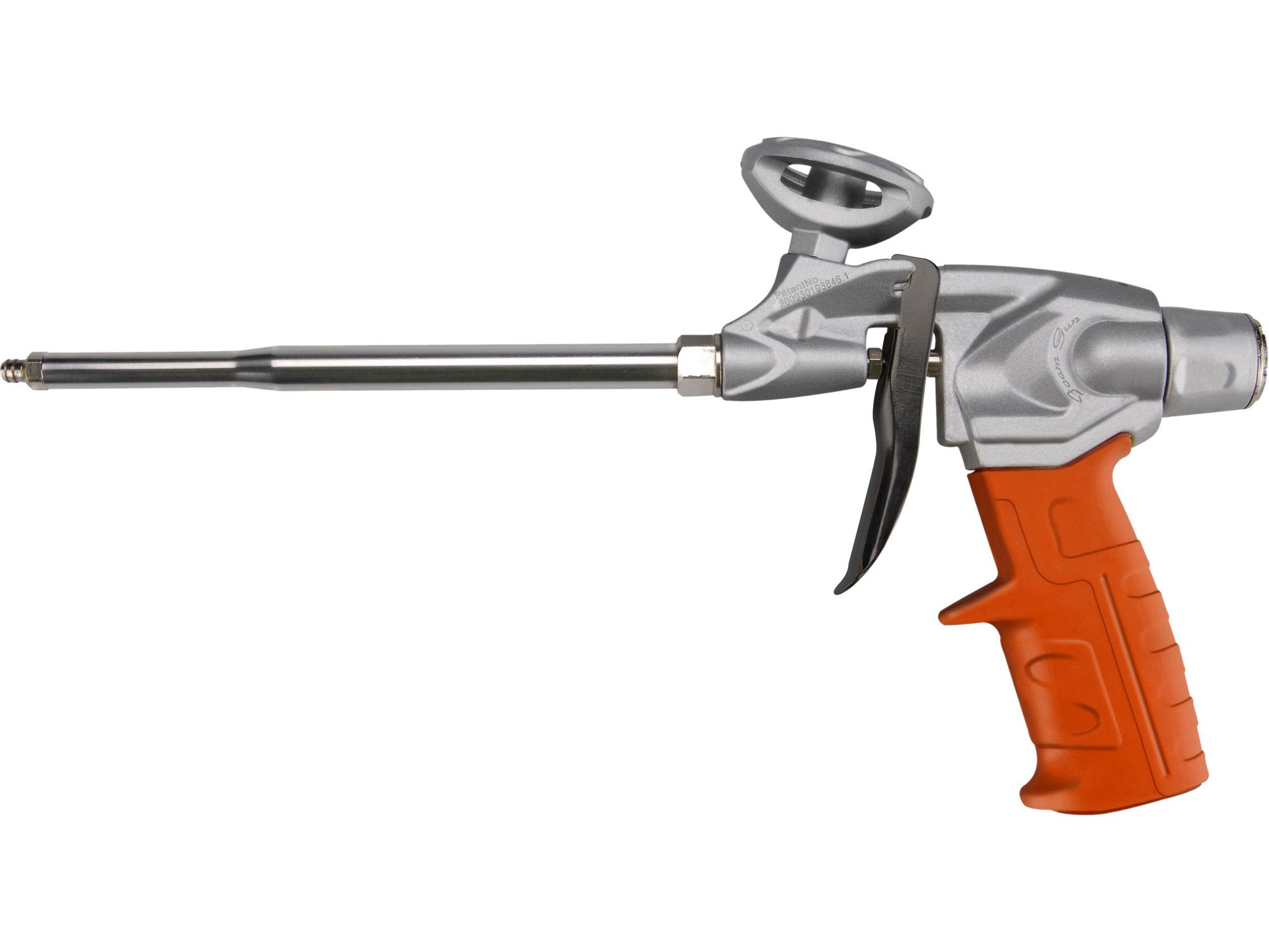 Pistole na PU pěnu HEAVY DUTY, s regulací průtoku, robustní kovový rám EXTOL PREMIUM 88452