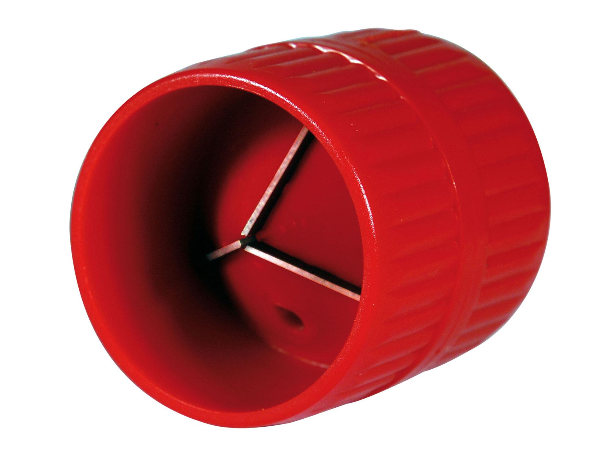 Odhrotovač trubek vnitřní i vnější, plastový, Ř4-38mm EXTOL PREMIUM 8848031