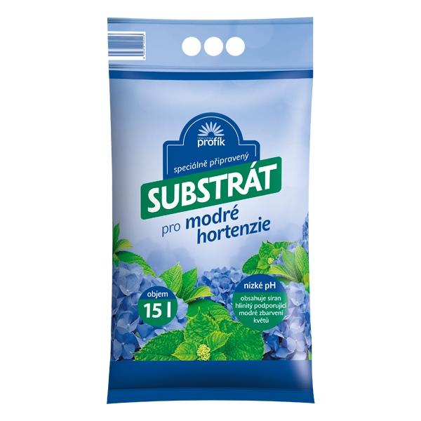 Speciální substrát pro modré hortenzie Forestina PROFÍK 15 l