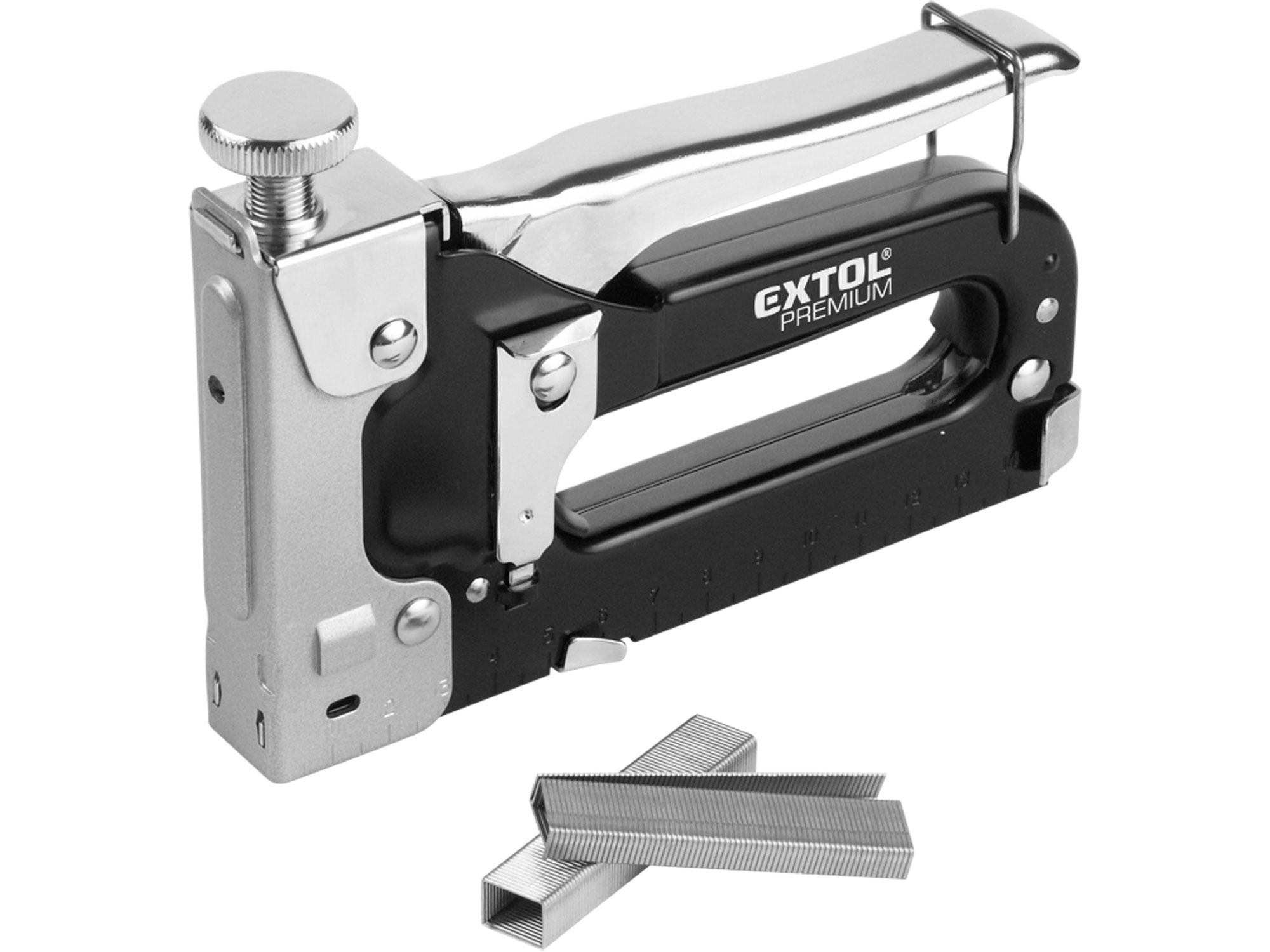 Pistole sponkovací, 4-14mm EXTOL PREMIUM 8851100