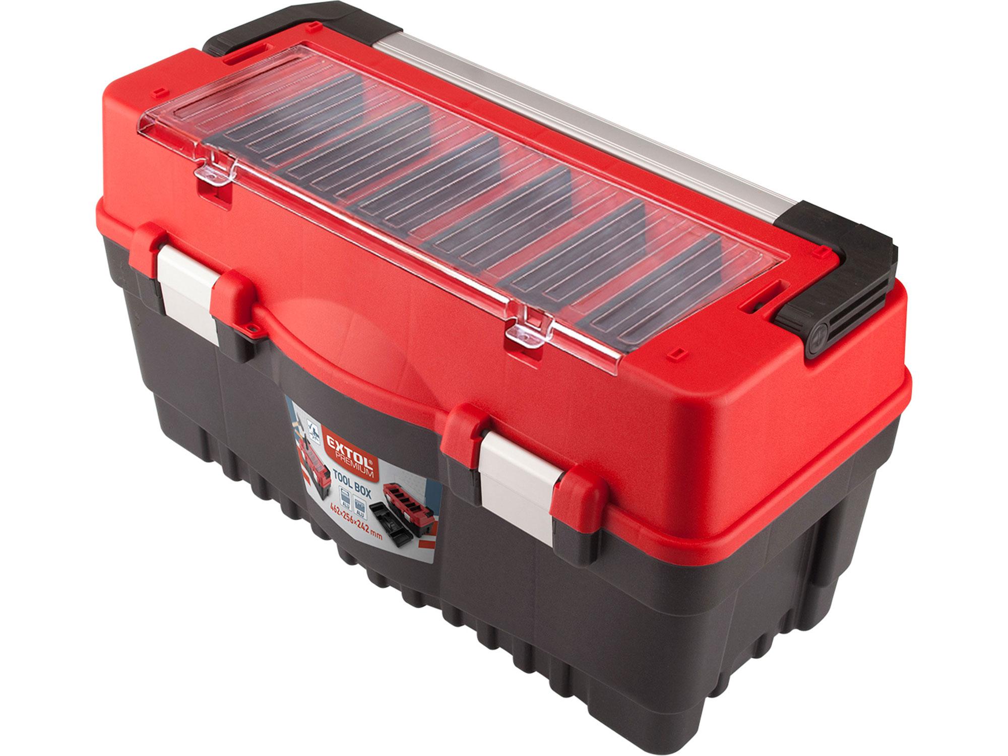 Kufr na nářadí CARBO velikost L EXTOL 8856082
