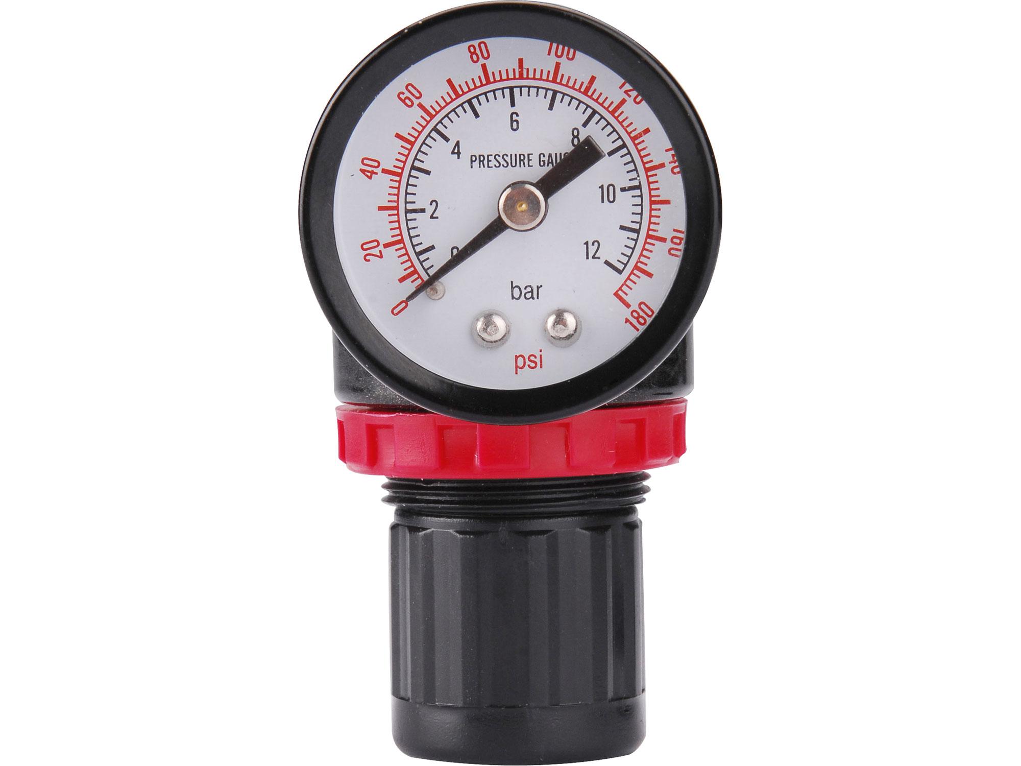 """Regulátor tlaku s manometrem konektor rychlospojek 1/4"""" EXTOL PREMIUM 8865103"""