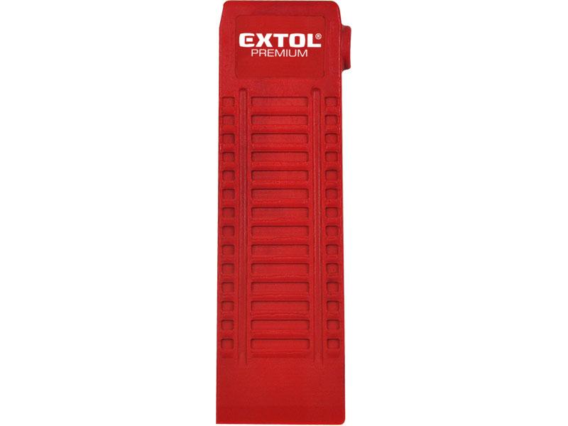 Klín rozevírací, nylonový, rozměry (d/š/tl.): 180x65x20mm, nylon EXTOL PREMIUM 8877301