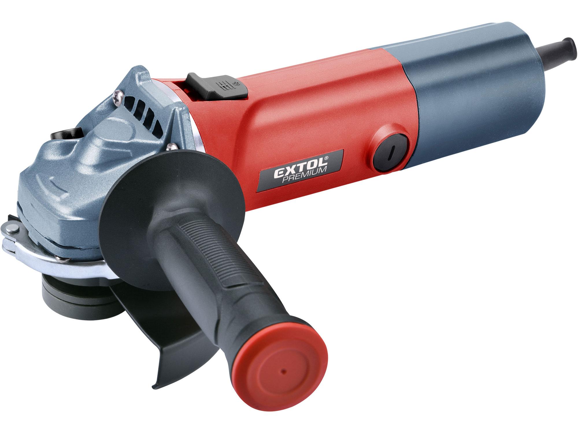 Bruska úhlová s regulací rychlosti, 125mm, 850W EXTOL PREMIUM 8892014