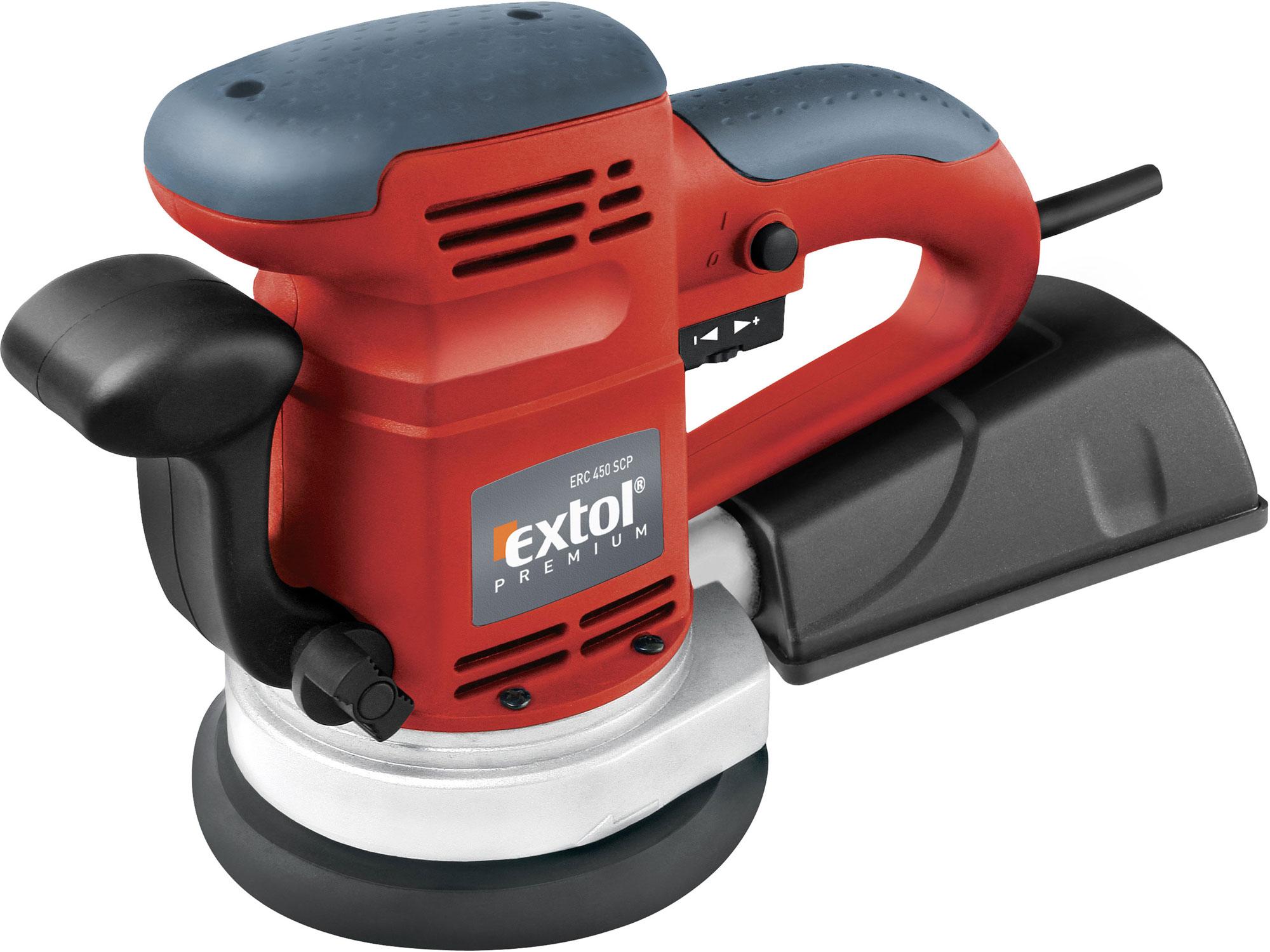 Bruska vibrační excentrická ERC 450 SCP EXTOL PREMIUM 8894202