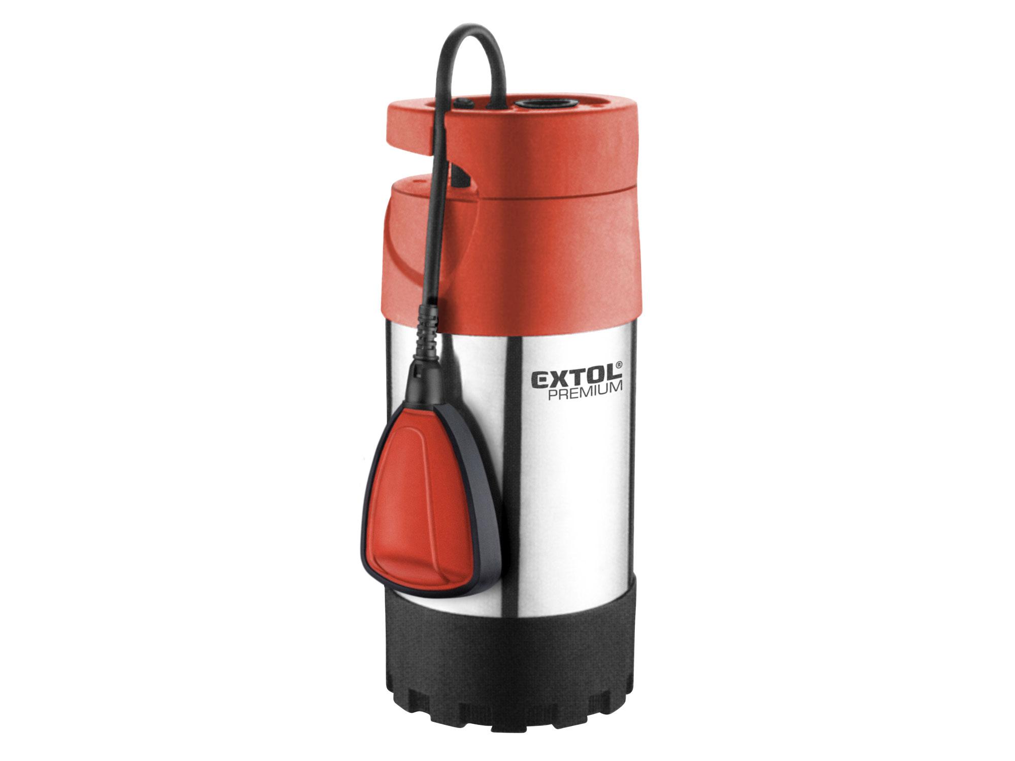 Čerpadlo ponorné tlakové, 1000W, 5500l/hod SPF 1000 G4 EXTOL PREMIUM 8895008