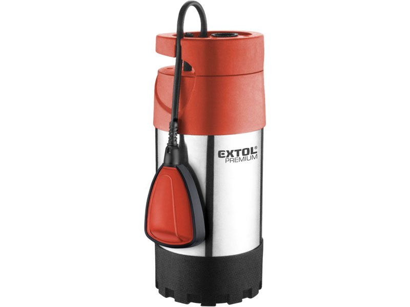 Čerpadlo elektrické ponorné tlakové, 1000W, 5500 l/h, 10m, EXTOL PREMIUM 8895008