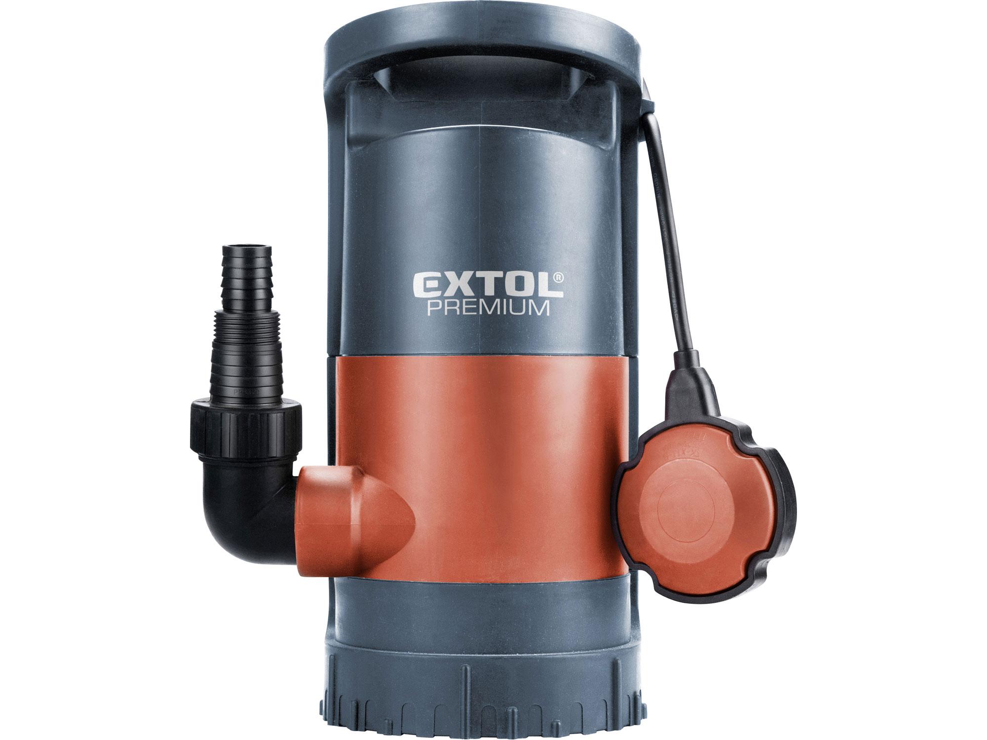 Čerpadlo na znečištěnou vodu 3v1, 900W, 13000l/h SP 900 EXTOL PREMIUM 8895013