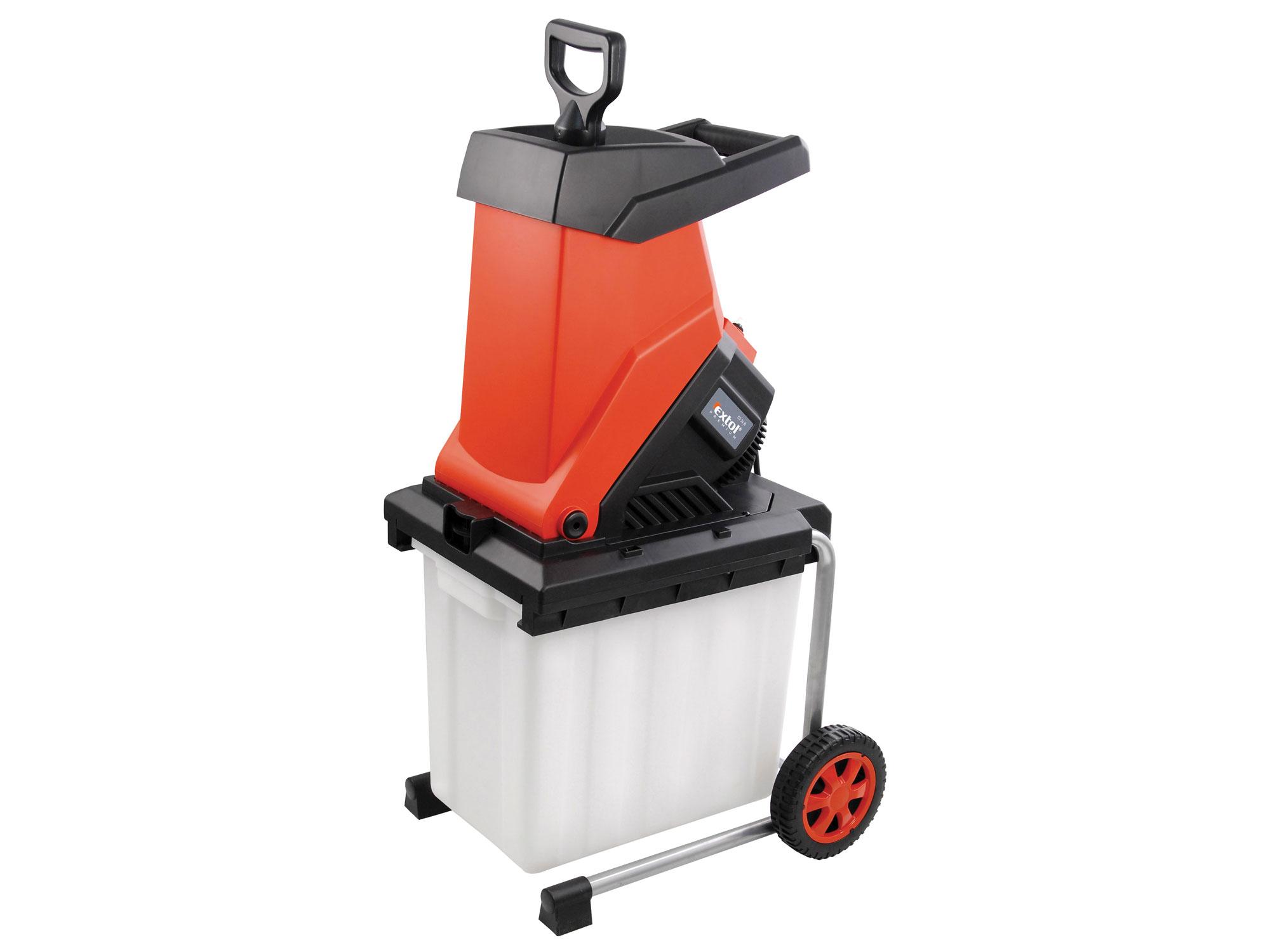 Drtič zahradního odpadu s boxem EXTOL PREMIUM CS 24 B 8895420